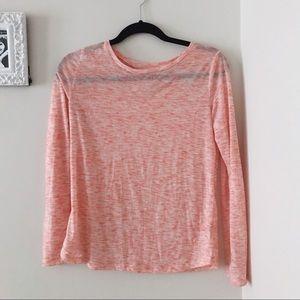 Bb Dakota pink long sleeve top